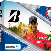 Bridgestone ball Tour B XS Tiger Woods Limited Edition