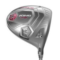 Cobra King F8 Womens Driver - Stříbrná